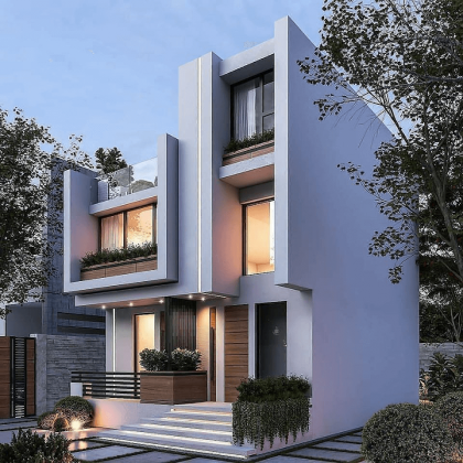 Типовые дизайн проекты домов и коттеджей