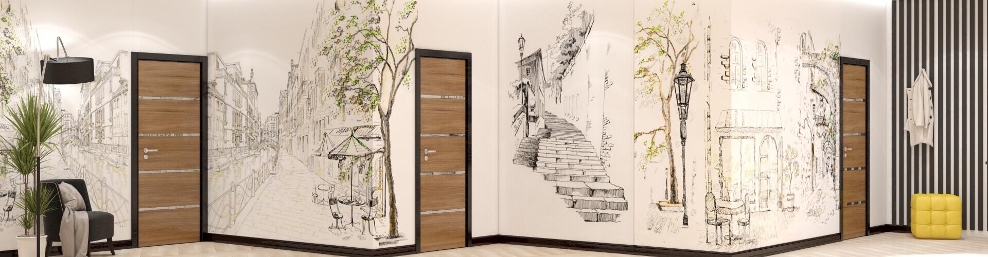 Художественная роспись сделает помещение оригинальнее © AbiStyle Дизайн студия в Киеве