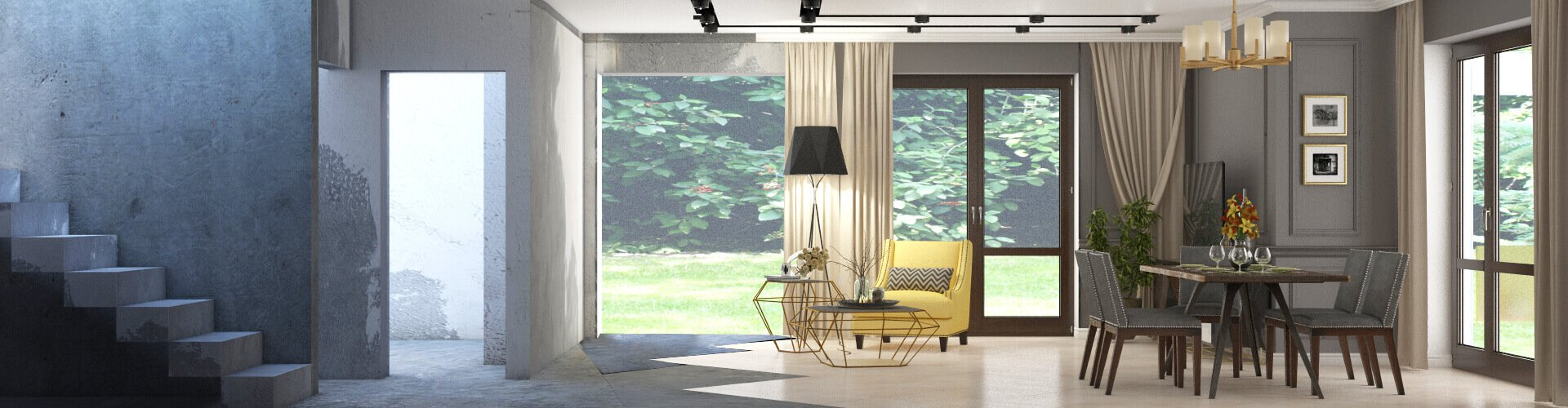 Дизайн интерьера под ключ © AbiStyle Дизайн студия в Киеве