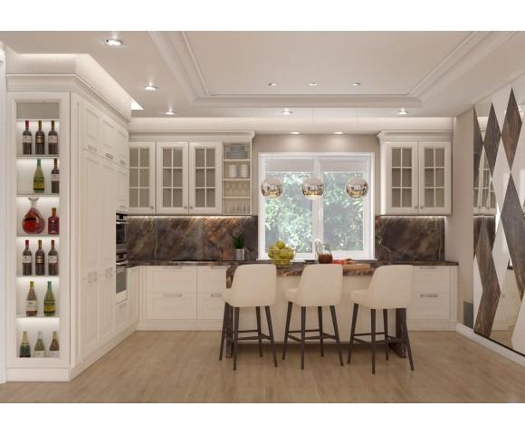 Дизайн проект частного дома 169м² с. Гора