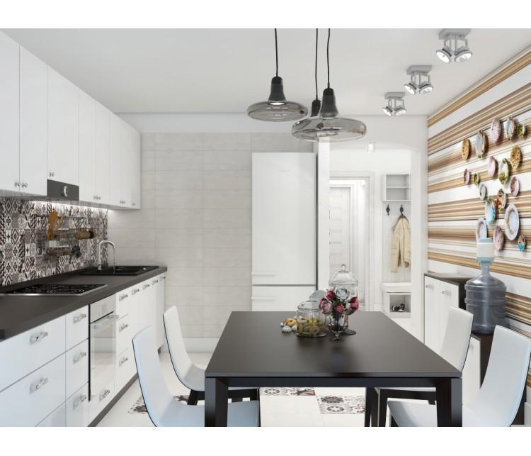 Дизайн проект дома 100м² с. Колонщина, Дизайн студия © AbiStyle