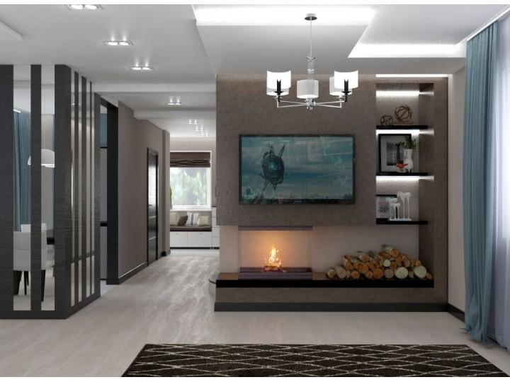 Интерьер дома 155м² с. Новые Петровцы, Дизайн студия © AbiStyle