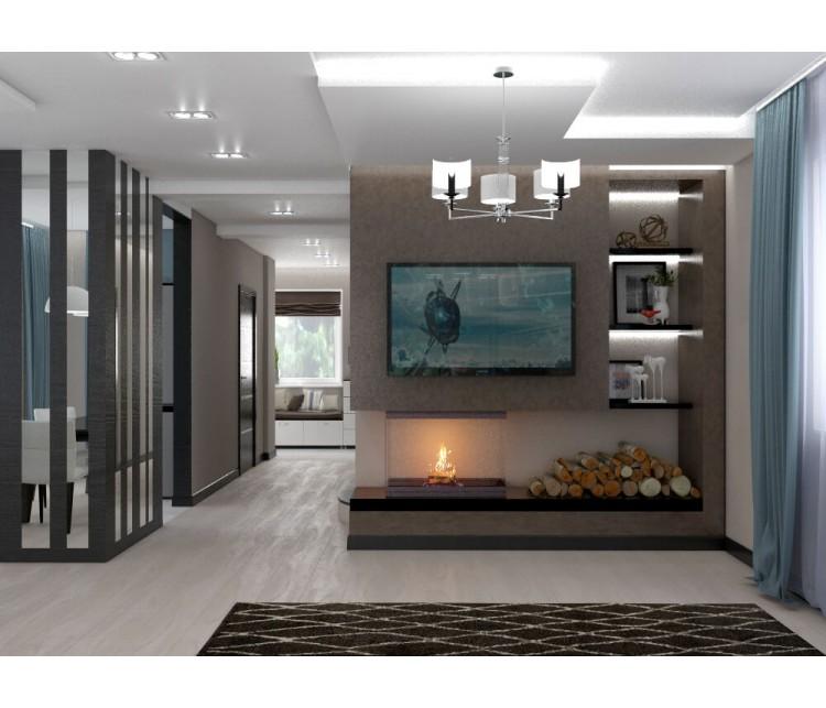 Дизайн проект дома 155м² с. Новые Петровцы, Дизайн студия © AbiStyle