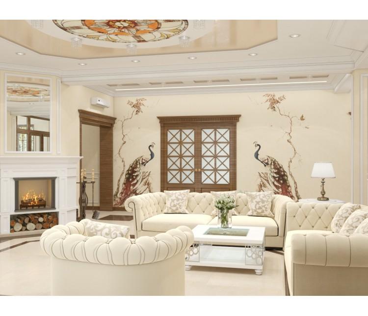Дизайн проект частного дома 300м² с. Погребы, Дизайн студия © AbiStyle