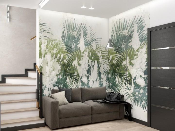 Интерьер частного дома 123м² с. Нова, Дизайн студия © AbiStyle
