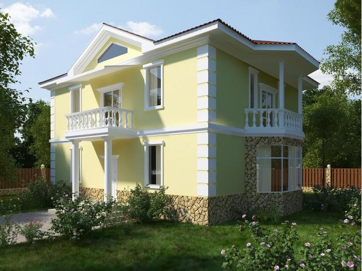 Интерьер частного дома 86м² с. Белогородка, Дизайн студия © AbiStyle