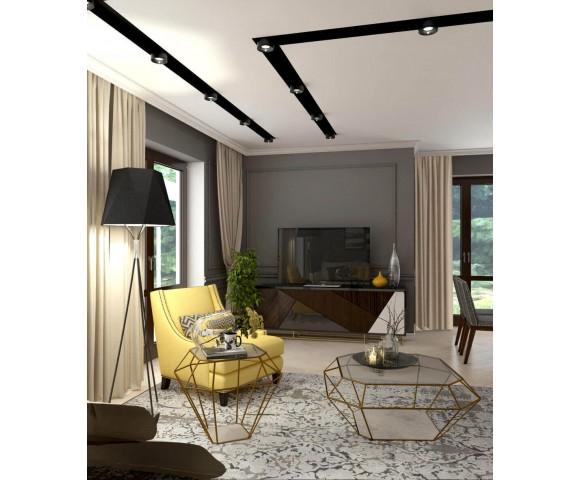 Дизайн проект частного дома 150м² г. Гостомель