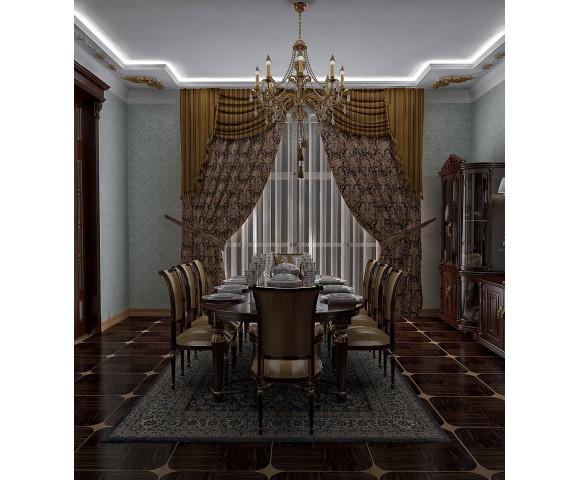Дизайн проект особняка 1000м² в Березовке