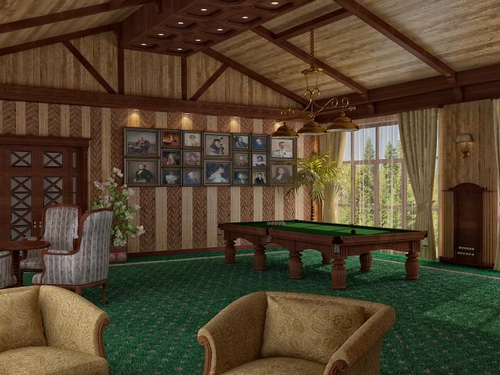 Интерьер особняка 1000м² в Березовке, Дизайн студия © AbiStyle