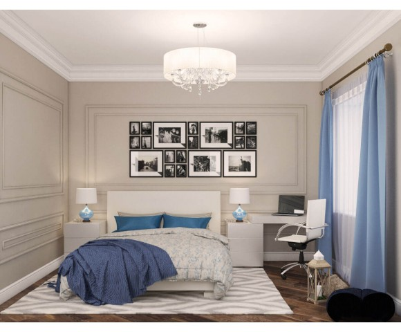 Дизайн проект коттеджа 153м² Green Hills в пригороде Киева