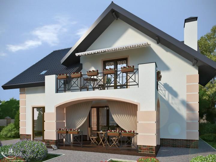Интерьер частного дома 183м² в Иванковичах, Дизайн студия © AbiStyle