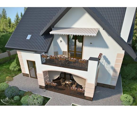 Дизайн проект частного дома 183м² в Иванковичах
