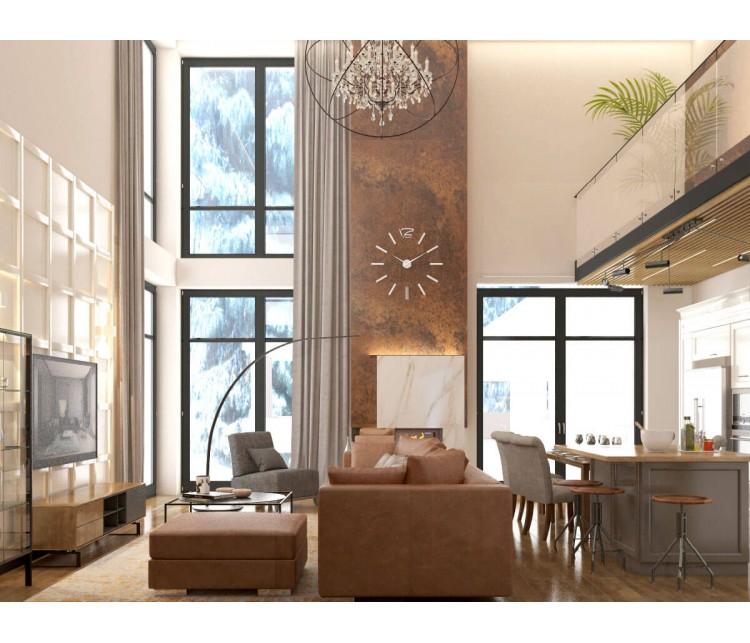 Дизайн проект частного дома 500м² г. Киев, Дизайн студия © AbiStyle