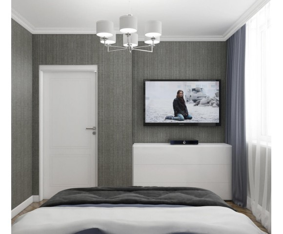 Дизайн проект квартиры 53м² Киев