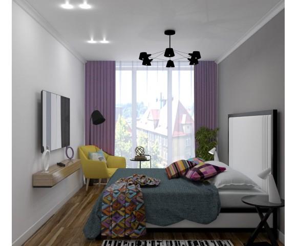 Дизайн проект квартиры 85м² ЖК Gloria Park