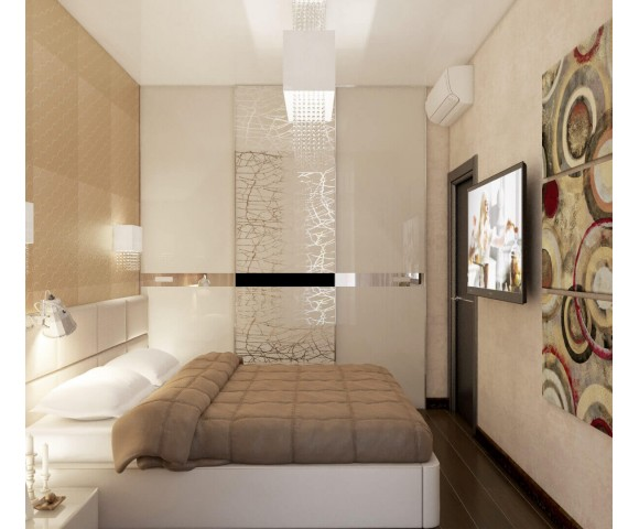 Дизайн проект квартиры 72м² город Киев