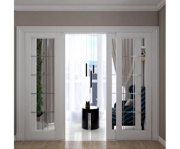Дизайн проект квартиры 96м² в Киеве