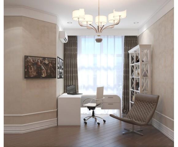 Дизайн проект квартиры 65м² ЖК Французский бульвар