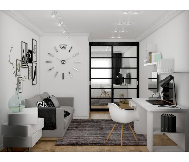 Дизайн проект квартиры 56м² в Киеве, Дизайн студия © AbiStyle