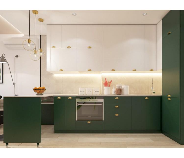 Дизайн проект квартиры 47м² ЖК Министерский, Дизайн студия © AbiStyle