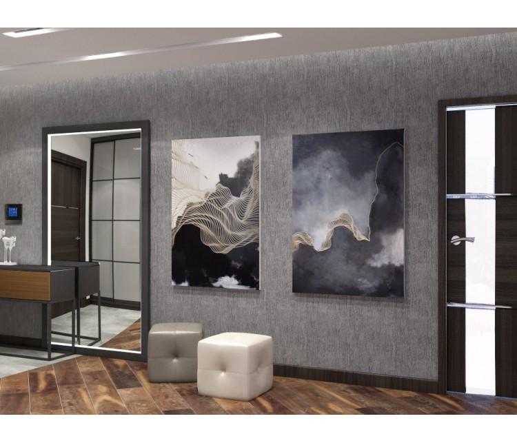 Дизайн проект квартиры 60м² в Кременчуге, Дизайн студия © AbiStyle