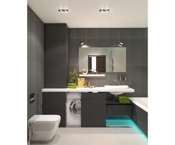 Дизайн проект квартиры 60м² в Кременчуге
