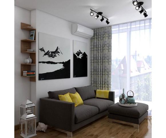 Дизайн проект квартиры 75м² ЖК Gloria Park