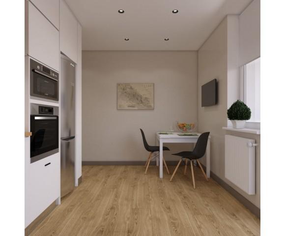 Дизайн проект квартиры 63м² ЖК Нивки Парк