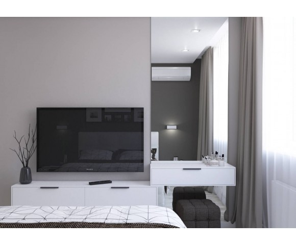 Дизайн проект квартиры 93м² в Киеве