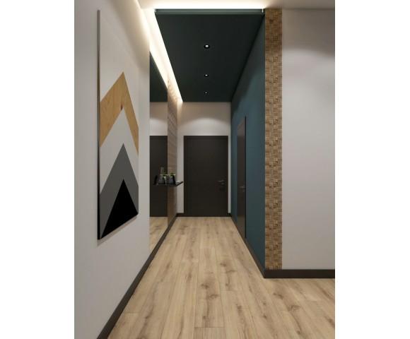 Дизайн проект квартиры 55м² ЖК Смарт Плаза