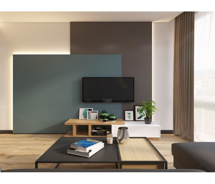 Дизайн проект квартиры 55м² ЖК Смарт Плаза, Дизайн студия © AbiStyle