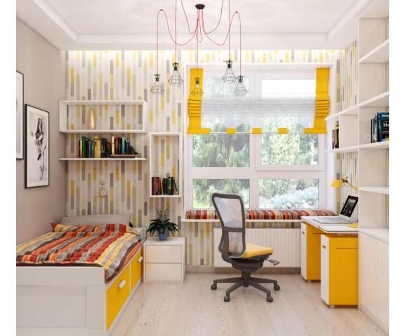 Дизайн проект квартиры 110м² ЖК Уютный квартал
