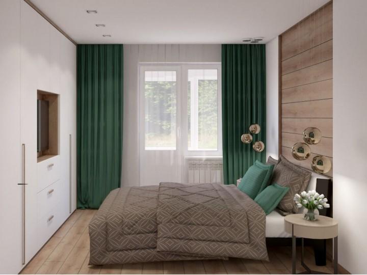Интерьер квартиры 95м² ЖК Місто Квітів, Дизайн студия © AbiStyle