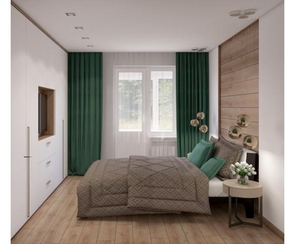 Дизайн проект квартиры 95м² ЖК Місто Квітів
