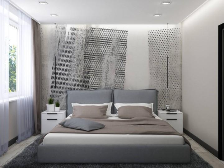 Интерьер квартиры 45м² ЖК Варшавский, Дизайн студия © AbiStyle
