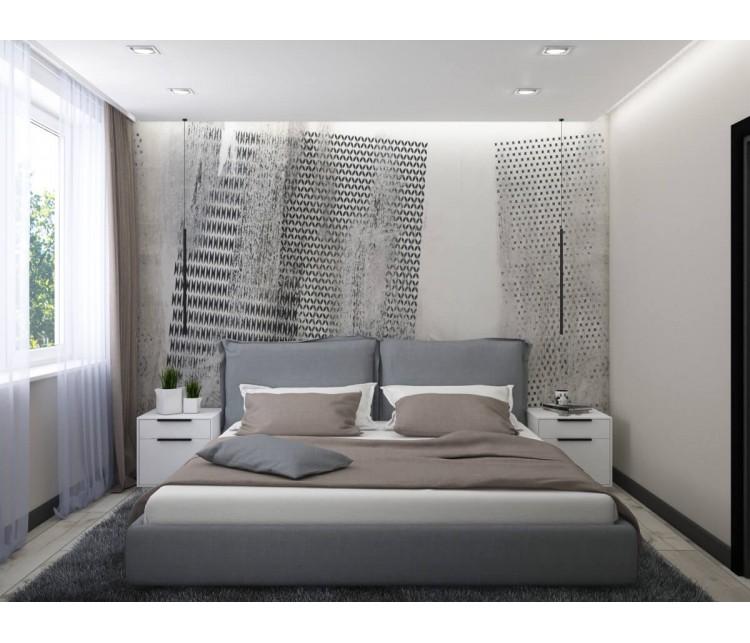 Дизайн проект квартиры 45м² ЖК Варшавский, Дизайн студия © AbiStyle