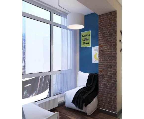 Дизайн проект квартиры 73м² г. Ворзель