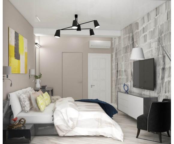Дизайн проект квартиры 108м² ЖК Busov Hill