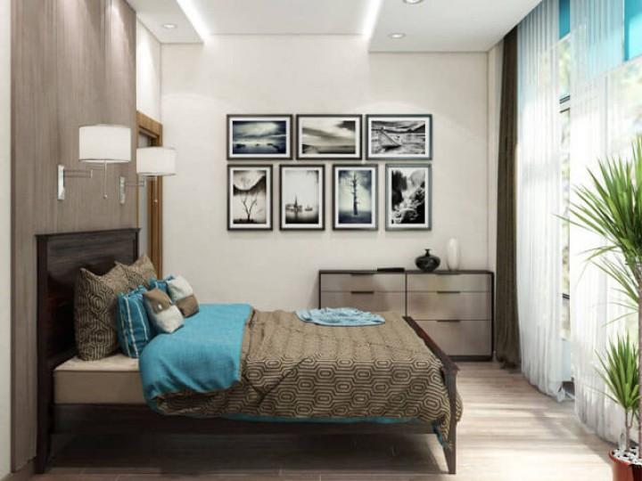 Интерьер квартиры 104м² ЖК Sherwood, Дизайн студия © AbiStyle