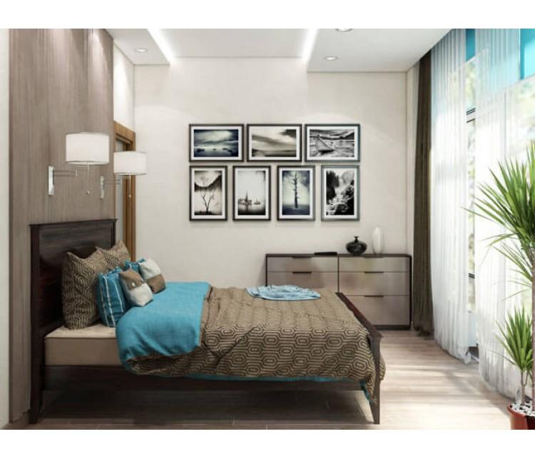 Дизайн проект квартиры 104м² ЖК Sherwood, Дизайн студия © AbiStyle