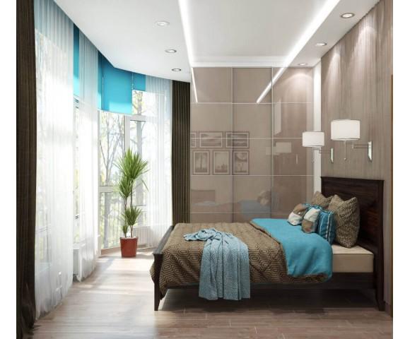 Дизайн проект квартиры 104м² ЖК Sherwood