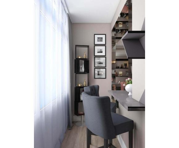 Дизайн проект квартиры 130м² ЖК Женева