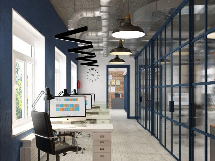 Дизайн проект офиса в г. Ирпень