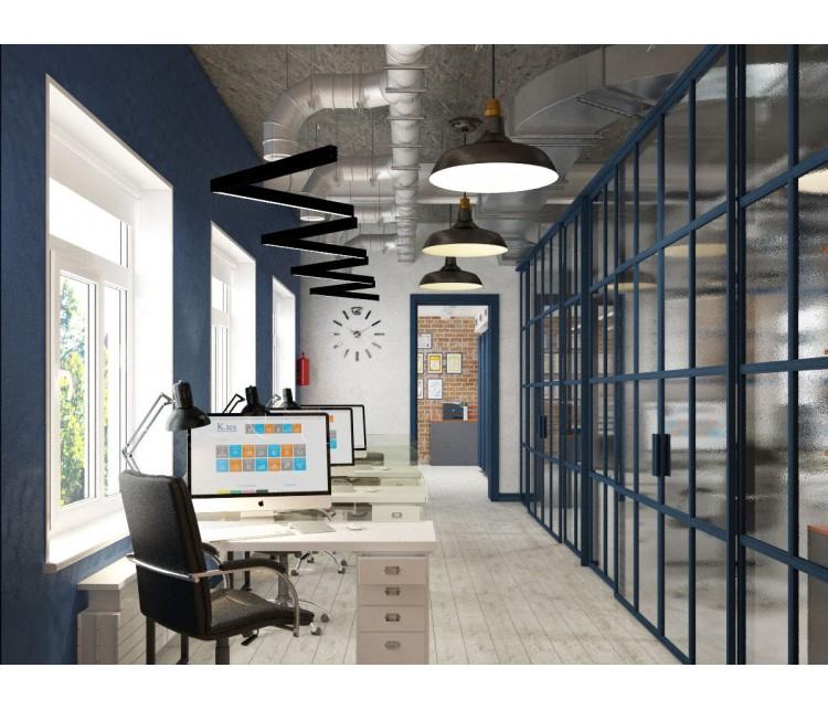 Дизайн проект Офиса 80м² г. Ирпень, Дизайн студия © AbiStyle