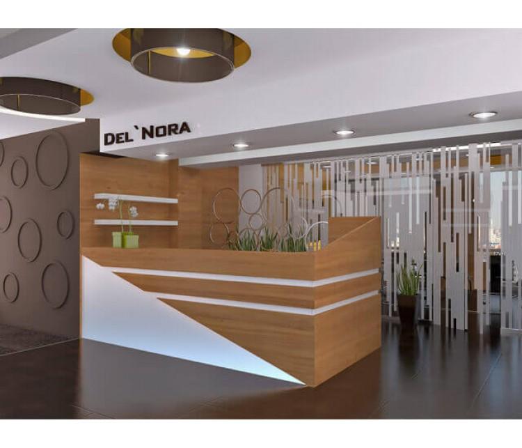 Дизайн проект офиса 500м² в Киеве, Дизайн студия © AbiStyle