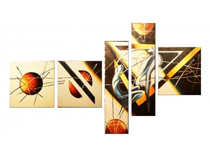 "Картина ""Абстракция"", Дизайн студия © AbiStyle"