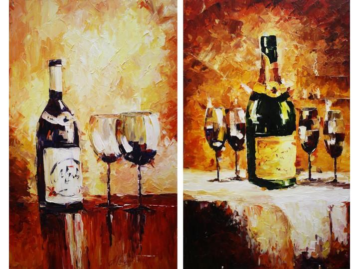 """Картины """"Ресторан"""", Дизайн студия © AbiStyle"""