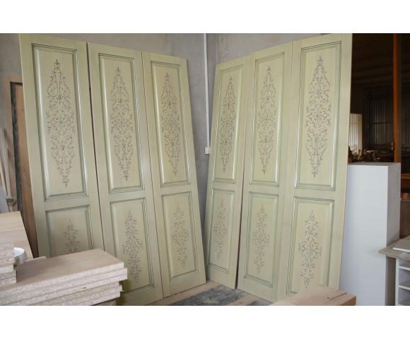 """Художественная роспись дверей """"восточный орнамент"""""""