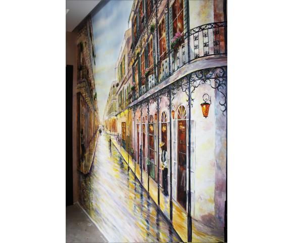Художественная роспись в коридоре