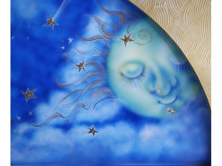 Художественная роспись в детской, Дизайн студия © AbiStyle